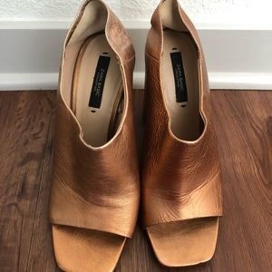 Zara Copper Heels Size 38 (8)